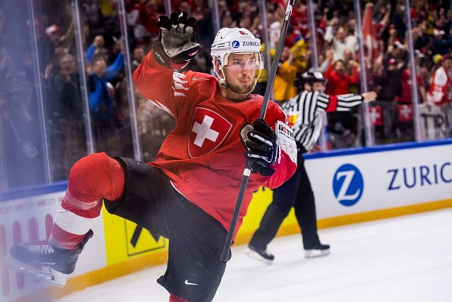 Švýcarští hokejisté v semifinále porazili favorizovanou Kanadu
