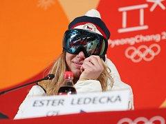Ester Ledecká je překvapivá vítězka Super-G