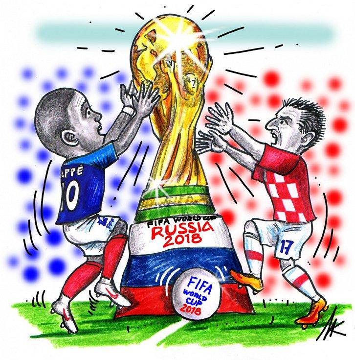 Finále mistrovství světa ve fotbale.