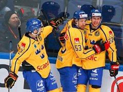 Hokejisté Švédska porazili Finsko