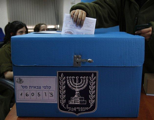 Klání o paralamentní křesla v Izraeli.