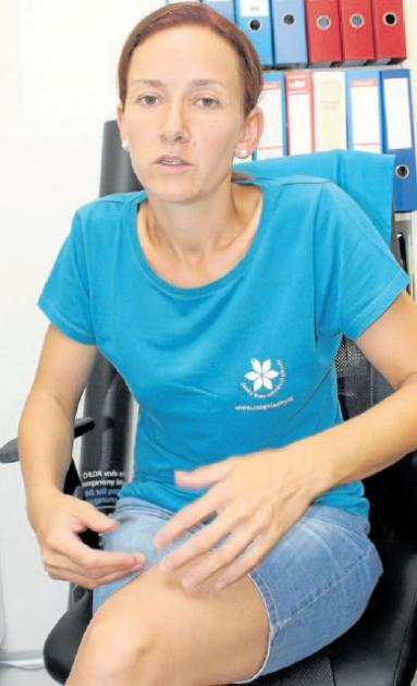 Kateřina Zemanová je ředitelkou Vodního domu vHulicích, který byl otevřen vroce 2016
