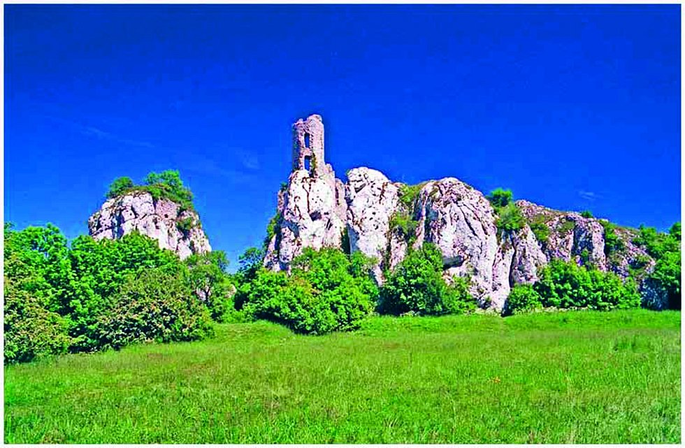 Přírodní rezervace Tabulová. Rozkládá se na Pálavě mezi obcemi Klentnice a Bavory a na pouhých pár kilometrech nabízí hned několik zajímavostí. Mezi nimi je zřícenina Sirotčího hrádku.
