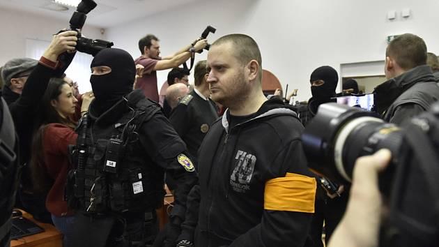 Obviněný Miroslav Marček