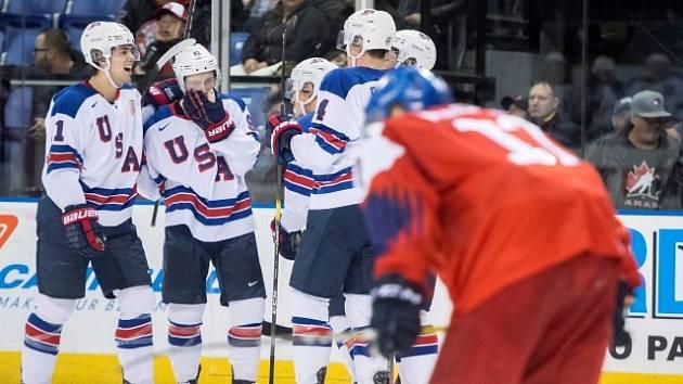 Čeští hokejisté čtvrtfinále s USA prohráli