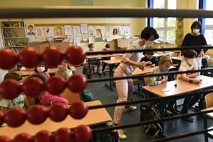 Testování dětí ve škole