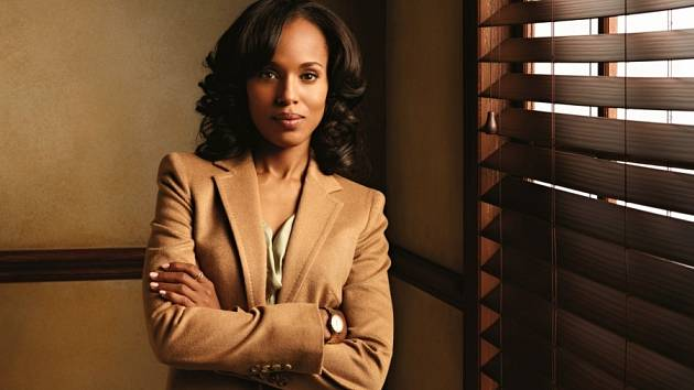 Kerry Washingtonová nominovaná na Emmy za nejlepší ženský herecký výkon v populární televizní sérii Scandal.