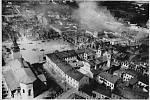 Rozbombardované polské město Wielun, které německé letectvo zničilo hned první den útoku