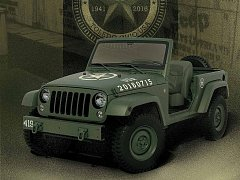 Jeep Wrangler 75th Salute.