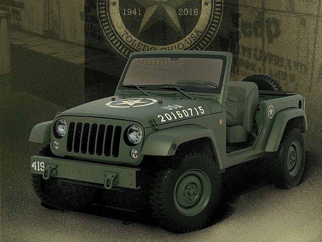 Jeep Wrangler 75th Salute.