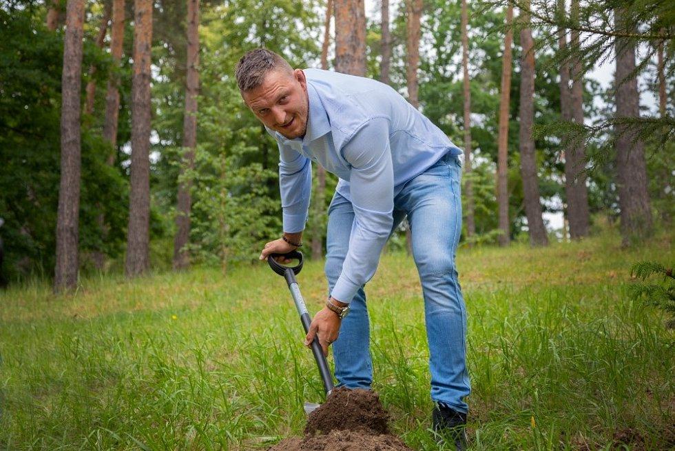 Lukáš Krpálek se zapojil do projektu Kořeny osobností.