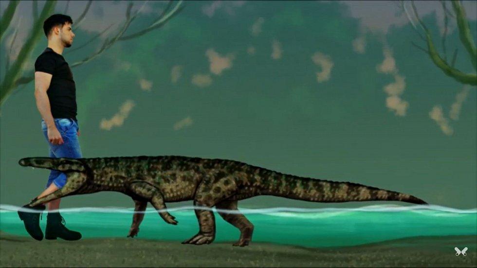 Tento praotec krokodýlů se nazýval Boverisuchus
