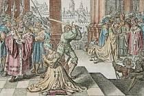 Poprava Anny Boleynové