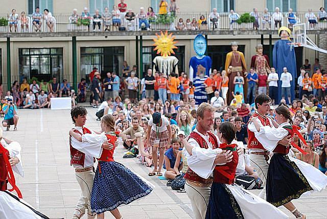 Česká polka na kulturním programu v Tarragoně