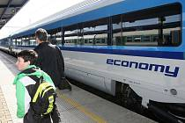 Současné vagony Railjet
