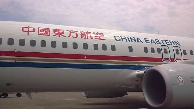 Letadlo společnosti China Eastern Airline