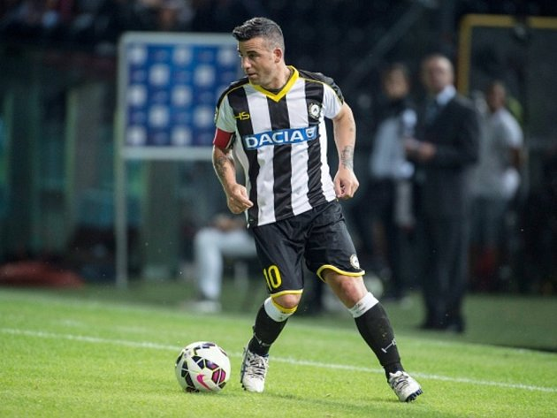 Antonio Di Natale z Udine.