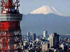 Japonská sopka Fudži