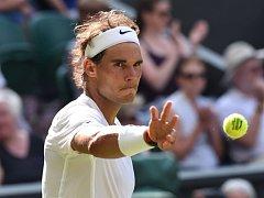 Rafael Nadal na Wimbledonu.