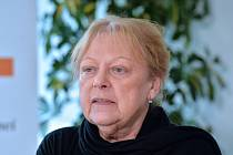 Ve věku 79 let zemřela předsedkyně správní rady Výboru dobré vůle Olgy Havlové Milena Černá (na snímku z roku 2015). Před revolucí pomáhala jako lékařka chartistům