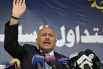 Jemenský prezident Alí Abdalláh Sálih