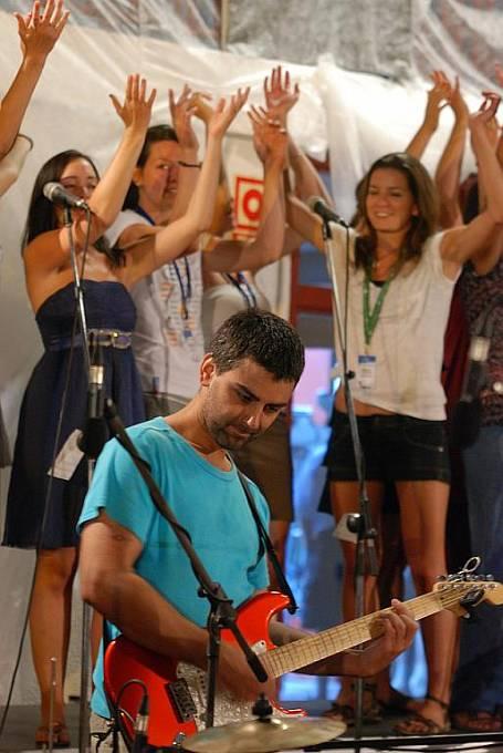 Účastníci Světových dní mládeže na českém dopoledním programu