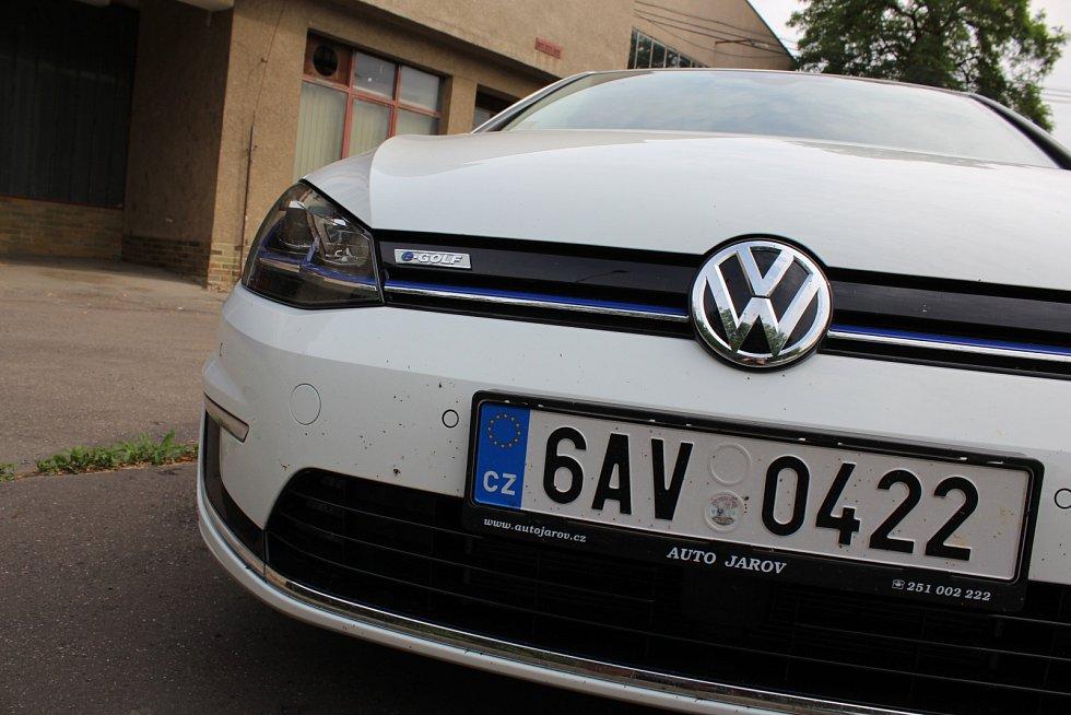 Elektromobil Volkswagen e-Golf