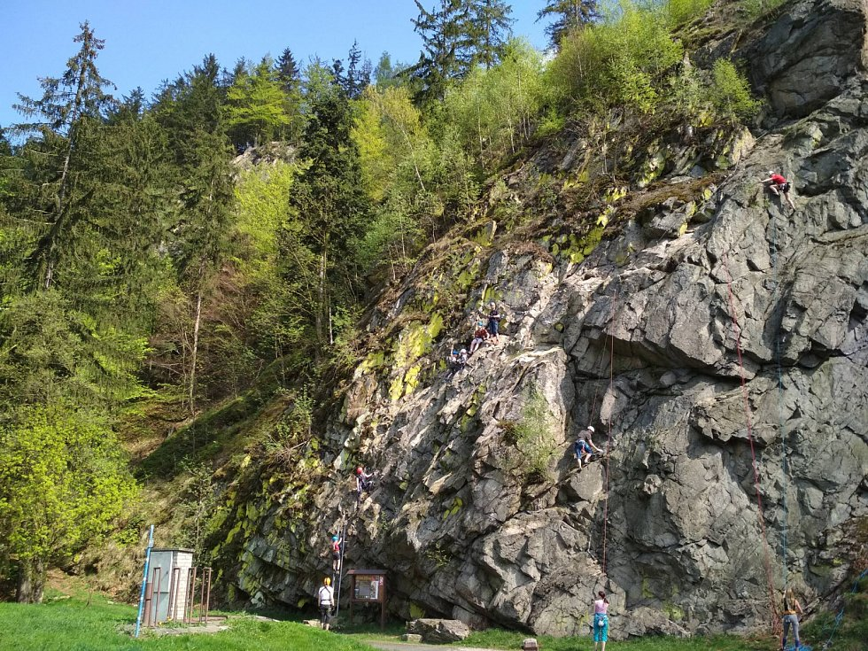 Ferrata Jezerní stěna