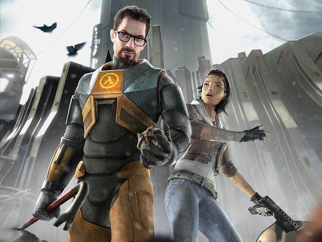 Hrdinové počítačové hry Half-Life 2.
