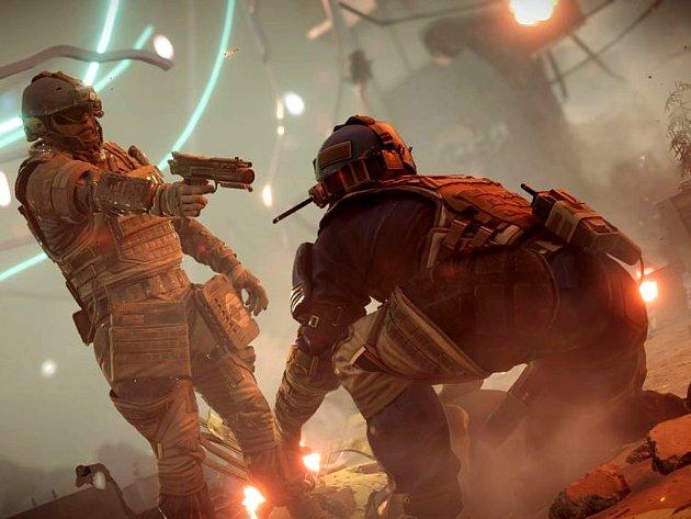 Počítačová hra Killzone: Shadow Fall.