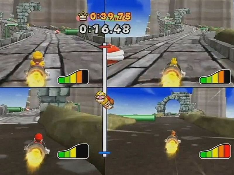 Počítačová hra Mario Party 9.