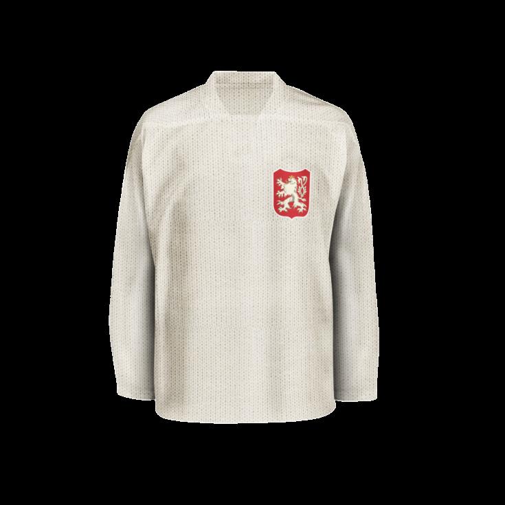 Hokejový dres z roku 1911.