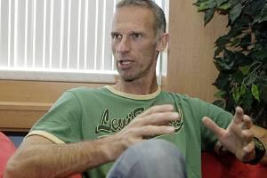 Legendární brankář Dominik Hašek.