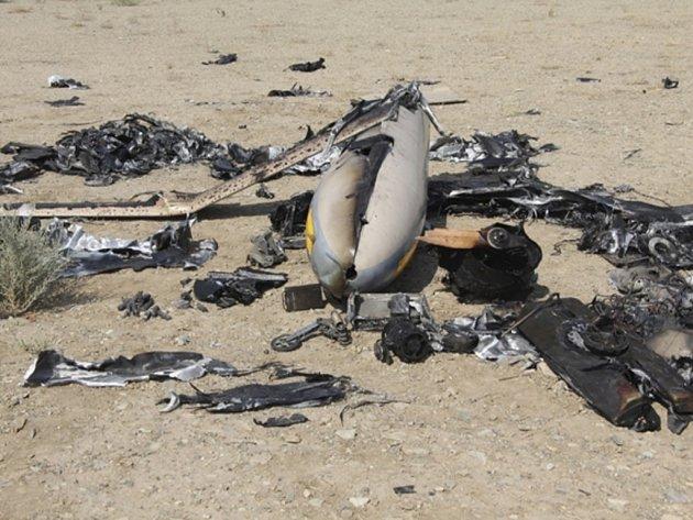 Revoluční gardy podle nedělní zprávy sestřelily s pomocí rakety stroj poblíž podzemního zařízení na obohacování uranu v íránském Natanzu.
