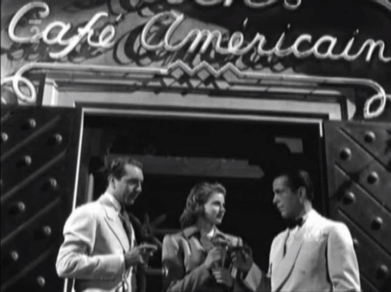 Film Casablanca s Humpreym Bogartem a Ingrid Bergmanovou nese i českou stopu