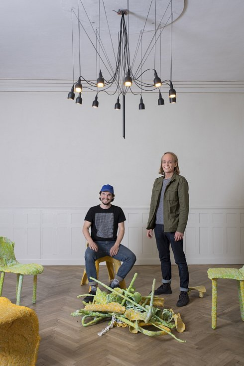 Designérské duo Eduard Herrmann a Matěj Coufal