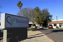 Soukromá klinika Hacienda HealthCare ve Phoenixu.