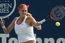 Petra Kvitová ve finále turnaje v New Havenu