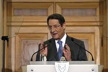 Kyperský prezident Nicos Anastasiadis.