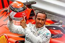 Lewis Hamilton po velké ceně Monaka F1