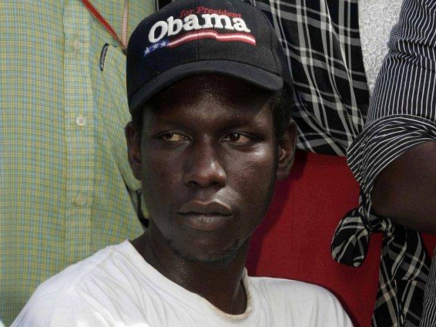 George Hussein Obama, nevlastní bratr Baracka Obamy.
