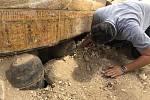 Objev 3000 let starých sarkofágů v Egyptě.
