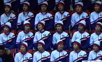 Roztleskávačky KLDR na olympijských hrách v Pchjongčchangu.