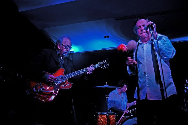 Phil May a Dick Taylor zThe Pretty Things vroce 2013