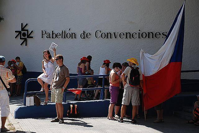 Program pro českou výpravu v pavilonu de la Convenciones