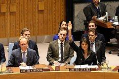Spojené státy jako jediné odmítly rezoluci OSN