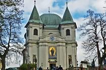 Bazilika Nanebevzetí Panny Marie ve Svatém Hostýně