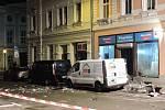 Výbuch před kanceláří Alternativy pro Německo v saském Döbelnu