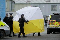 Vyšetřování útoku v Salisbury
