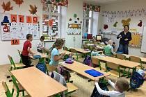 Výuka v ZŠ Mnichovice